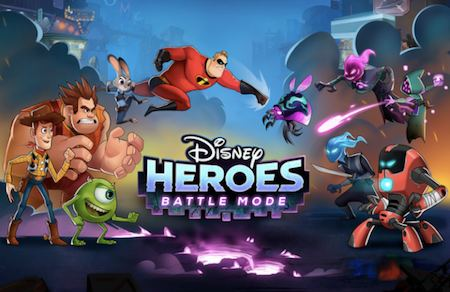 Astuces Disney Heroes Battle Mode
