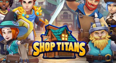 Astuces Shop Titans: Fabrication & Co