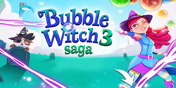 Bubble Witch 3 Saga Triche Astuce Barres d'Or et Vies Illimite